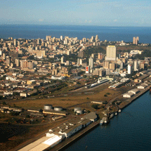 The Cities Alliance is currently supporting a State of the Cities Report in Brazil, Mozambique, Latin America and the Caribbean. Pictured above: Maputo, Mozambique..