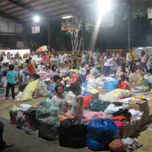 As of 8 October, more than 800,000 families were impacted by Typhoon Ketsana. Photo: HPFPI