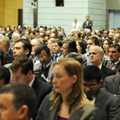 Audience at the Opening Plenary of the SDN Forum.