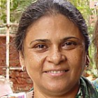 Sheela Patel, founder of SPARC and chair of Shack/Slum Dwellers International