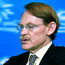 World Bank President Robert Zoellick at the launch of the new Urban Strategy in Singapore.