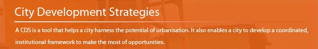 City development strategies
