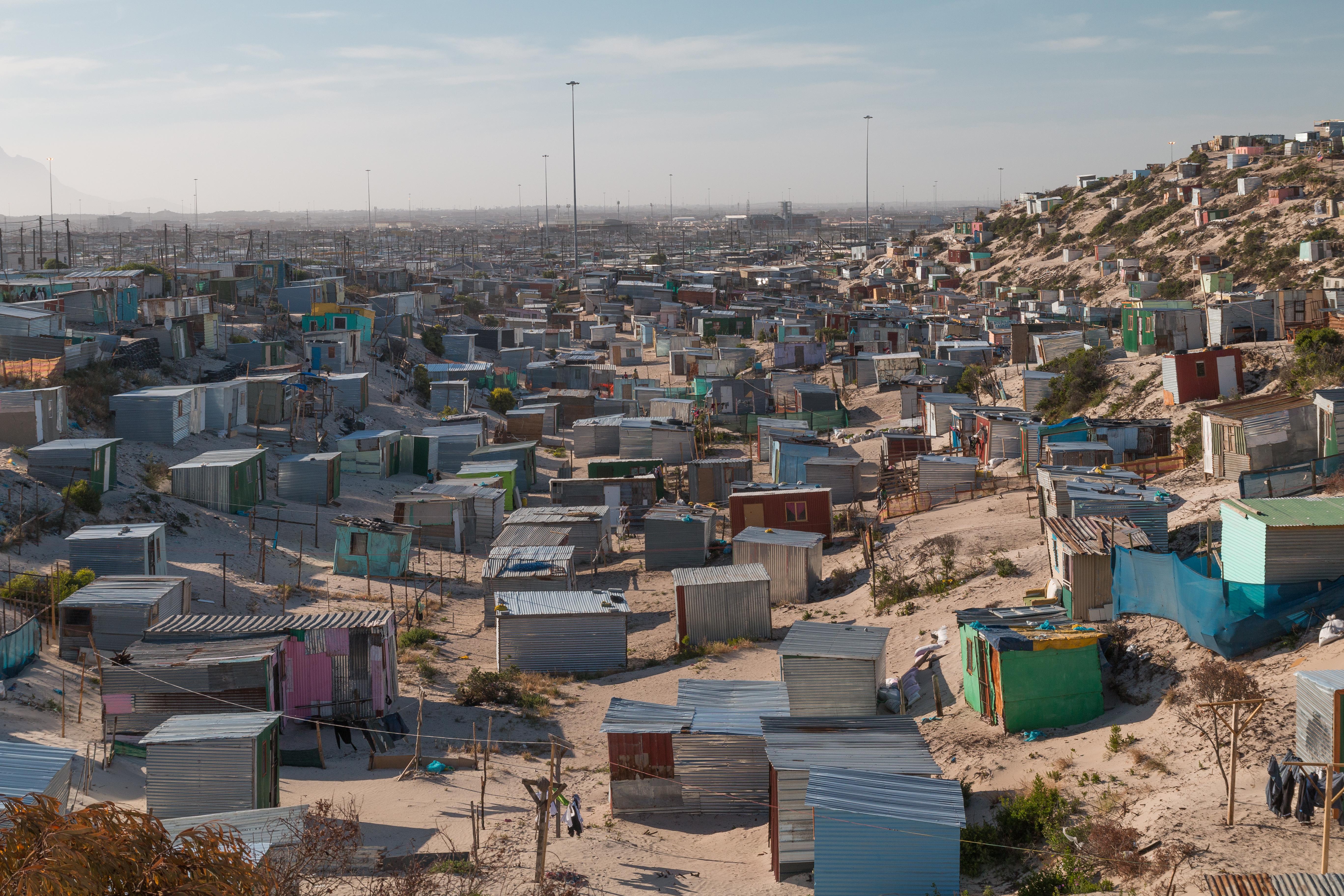 Slum, South Africa