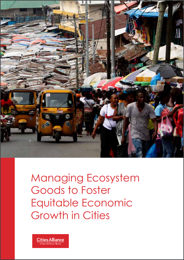 Managing Ecosystem Goods to Foster Equitable Economic Growth in Cities