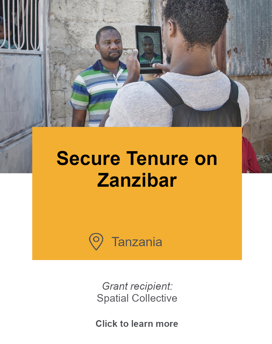 Photo: Secure Tenure on Zanzibar
